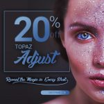Topaz Labs Adjust 20% discount